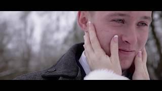 нереально красивый зимний свадебный клип 2017, до слёз Лариса и Вова
