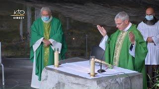 Messe du 24 septembre 2020 à Lourdes