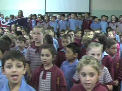 Sans Souci Public School's National Anthem