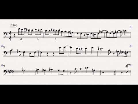 Hunting Wabbits - Andy Martin Solo Transcription