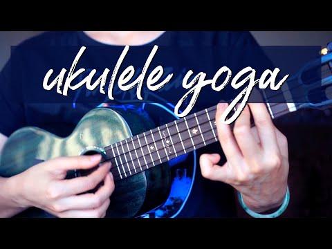 Ukulele Yoga - B Chord Workout and Stretches