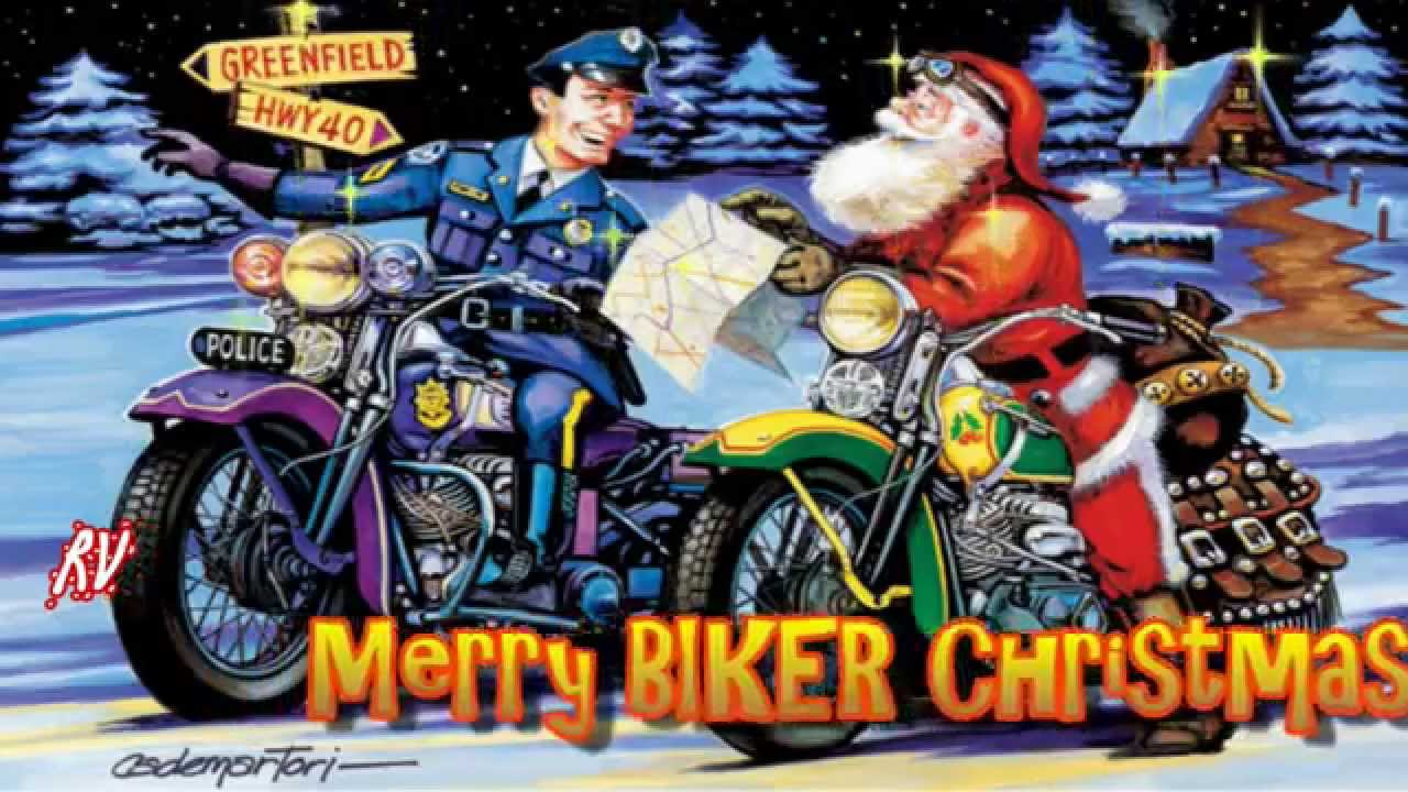 merry biker christmas youtube - Biker Christmas