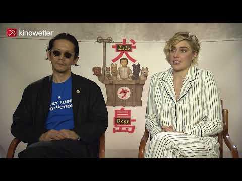 Interview Kunichi Nomura & Greta Gerwig ISLE OF DOGS