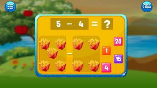 Math Kids - learn Subtraction for kids Maths Learning Educational Games for kids