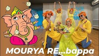 MAURYA RE/ Ganesh Vandana /  BAPPA MORYA/ new ganesha dance/ tujhko phir se jalwa/ Ritu's