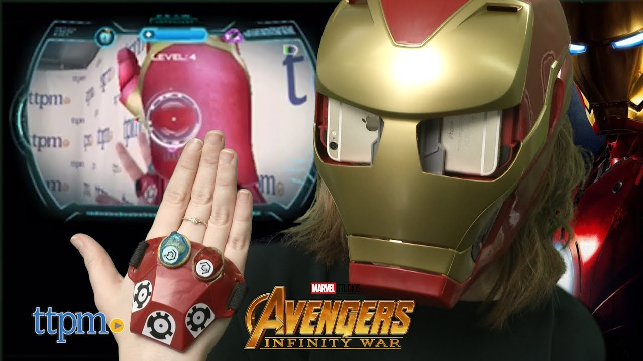 Avengers Infinity War Hero Vision Iron Man A R Experience