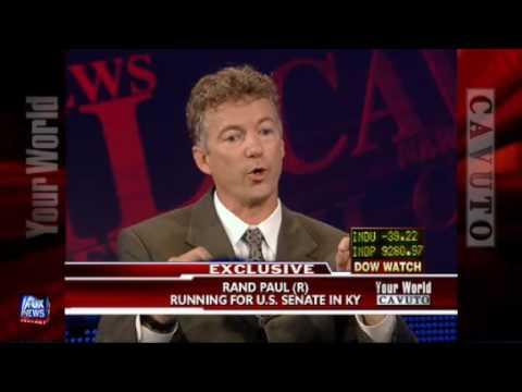 Rand Paul announces he