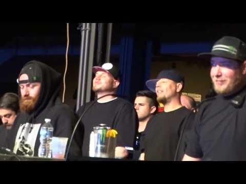 Tech N9ne TwiztidGmo shout out CARIBOU LOU Strictly Strange tour 2017 Pittsburgh