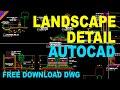 Landscape detail in AUTOCAD   Landscape Autocad Drawing