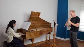 J.S. Bach : sonate BWV 1031, Voice Flute & Cembalo