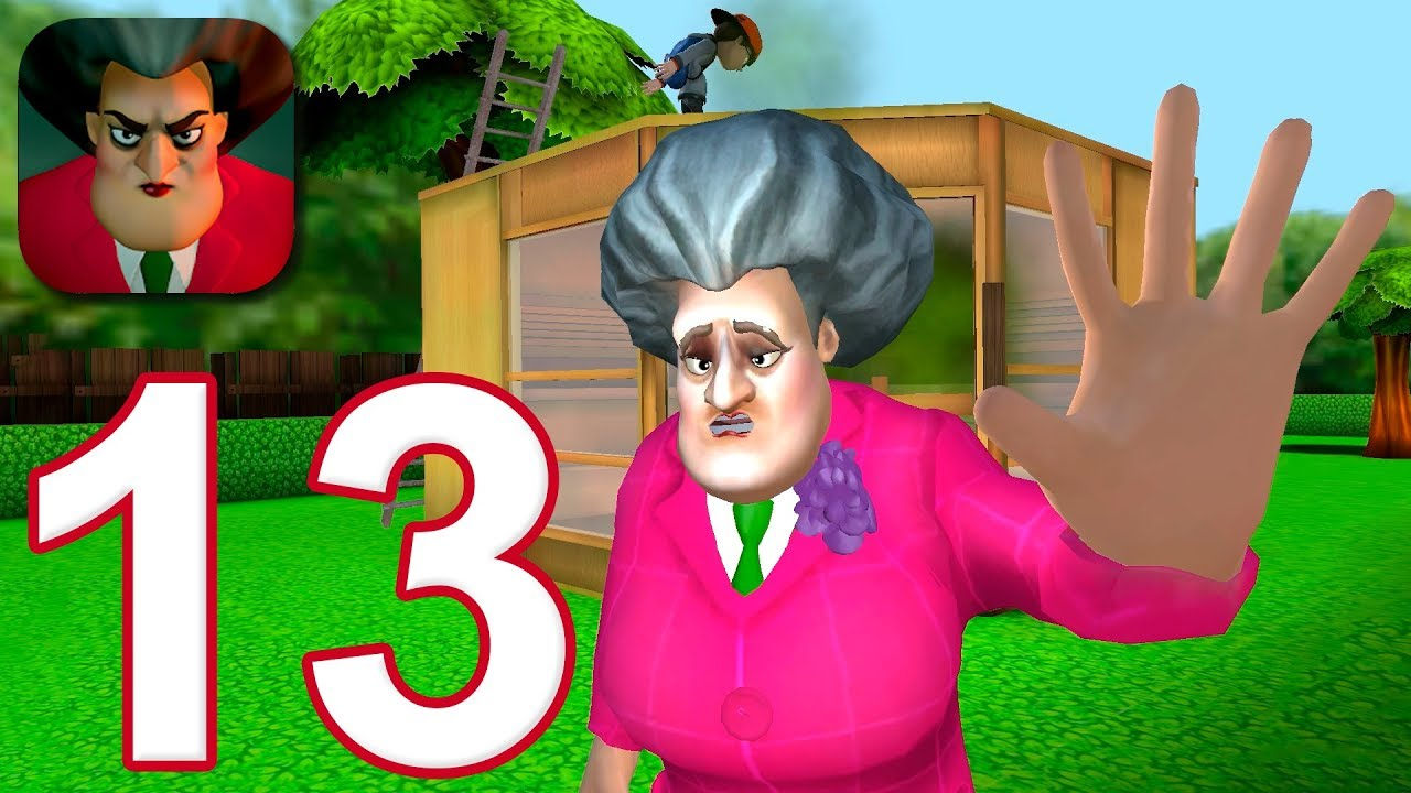 Download Scary Teacher 3D - Gameplay Walkthrough Part 13 - Stinky Sauna