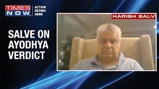 Top Lawyer Harish Salve on Ayodhya verdict; Was verdict based on faith?