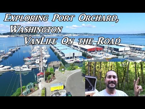 Exploring Port Orchard, WA VanLife On the Road