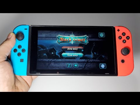 Dark Tower: RPG Dungeon Puzzle Nintendo Switch Handheld Gameplay