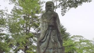第26代継体(けいたい)天皇像、福井市足羽(あすわ)公園にて、皇紀2678年6月14日。 thumbnail