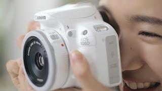 Canon EOS 100D White Kiss X7