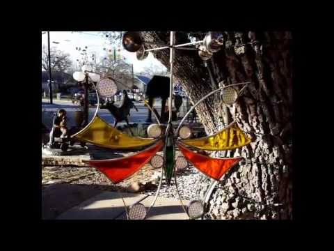 Kinetic Hanging Wind Sculptures