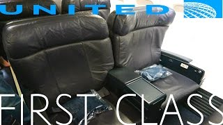 United Airlines FIRST CLASS Domestic TRIP REPORT|Los Angeles - Houston|Boeing 757-300