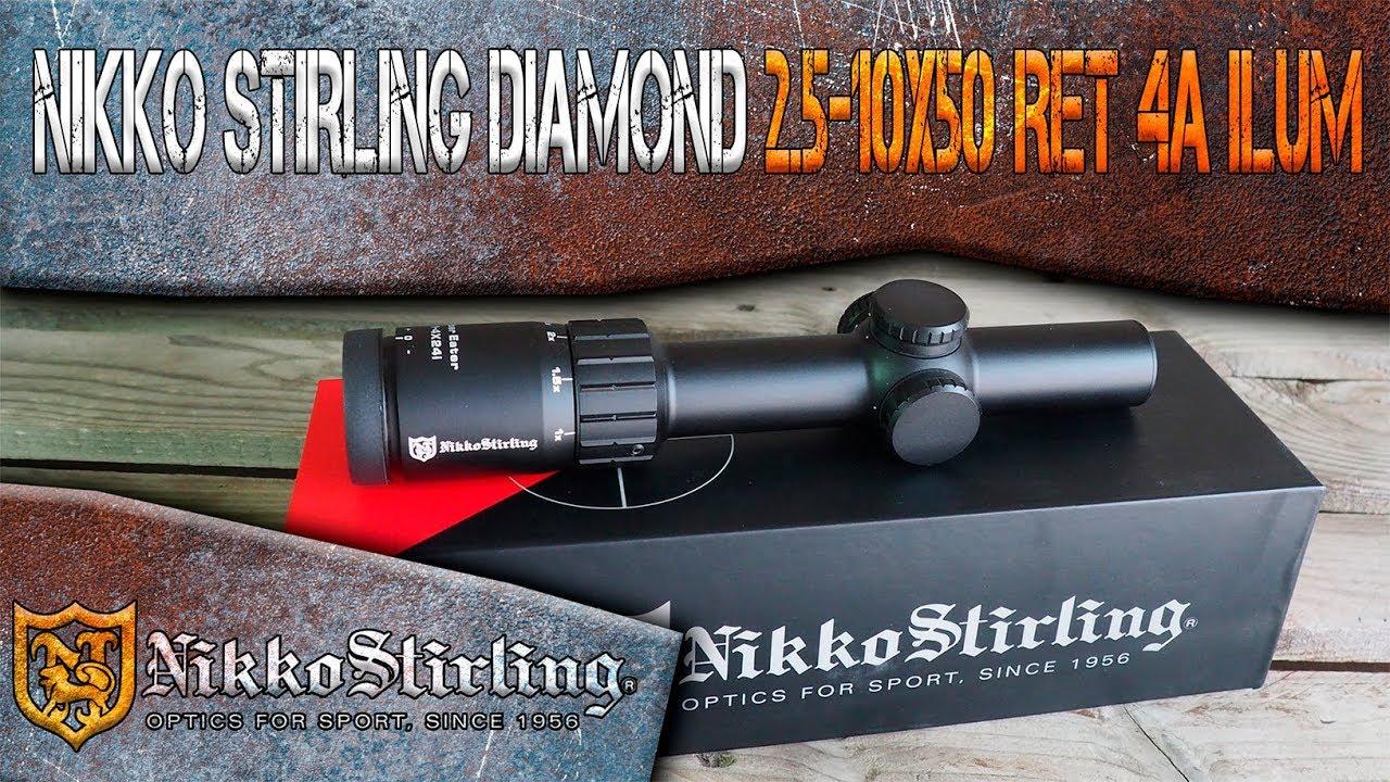 Lunette mixte Nikko Stirling Diamond 2.5-10x50