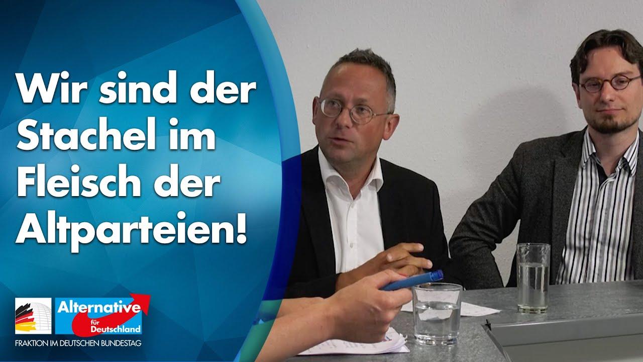 Bundestag verkleinern - jetzt! Gespräch mit Peter Felser und Tobias Peterka - AfD-Fraktion