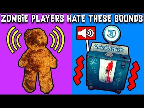 10 Sounds Zombie Players HATE HEARING ~ Black Ops 3 Zombies, BO1, BO2, WAW Zombies