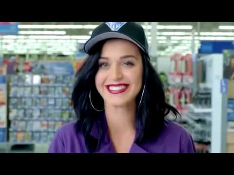 Katy Perry PRISM Commercial Walmart