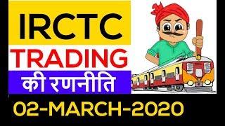 IRCTC MONDAY की रणनीति   IRCTC share । IRCTC Stock analysis । IRCTC share Target