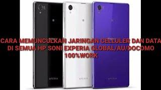 ada 5 tipe Hp Sony Xperia yang sudah support jaringan 4G LTE ..