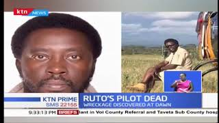 REPORT: What led to the crash of Dr William Ruto's chopper