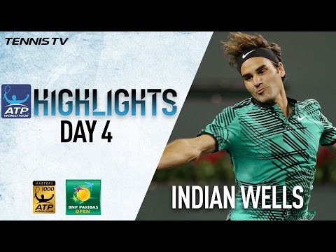 Highlights: Federer, Djokovic Prevail In Indian Wells 2017 Sunday
