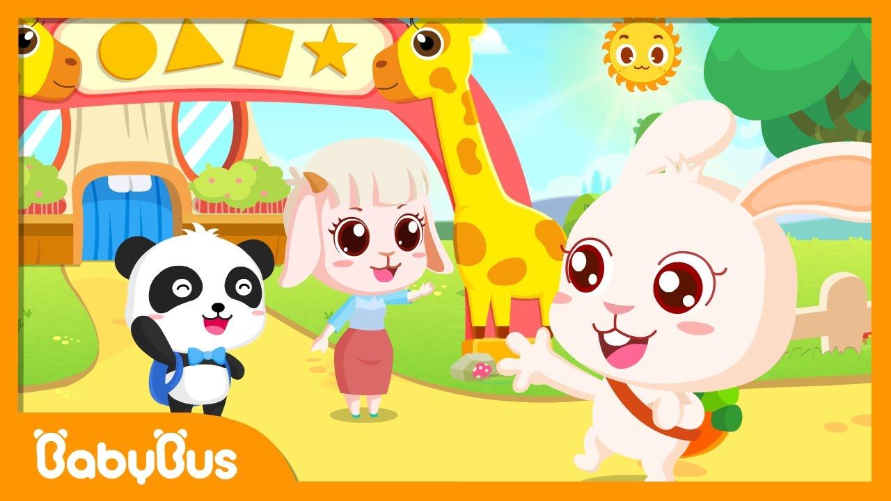 My Kindergarten | Animation For Babies | BabyBus - YouTube