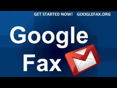 How to Google fax service for sending a fax through gmail