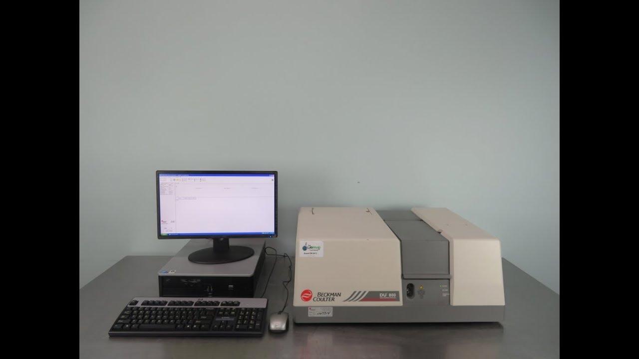 Beckman Coulter DU 800 Spectrophotometer