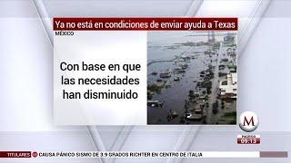 Tras sismo y 'Katia', México no enviará ayuda a Texas