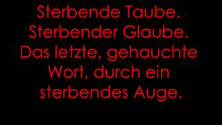 Casper- Herz (lyrics) ♥