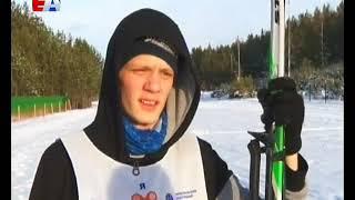 Сдали нормы ГТО по лыжным гонкам