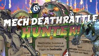 Partite SPETTACOLARI con MECH DEATHRATTLE HUNTER! | Hearthstone Rise of Shadows