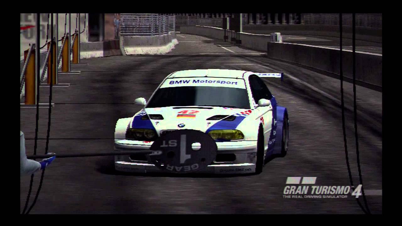 Gran Turismo 4 BMW M3 GTR Race Car '01 444HP RHRH Single