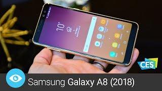 Samsung Galaxy A8 (2018) (CES 2018)