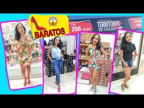 PROVANDO SAPATOS 👠 BARATOS DO SHOPPING TERRITÓRIO DO CALÇADO #territoriodocalçado #sapatosbaratos