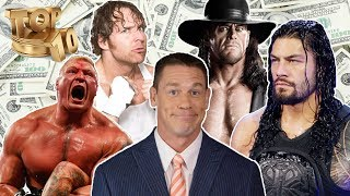 Top 10 Richest Wrestlers In The World In 2018 | Richest Wrestlers In WWE 2018