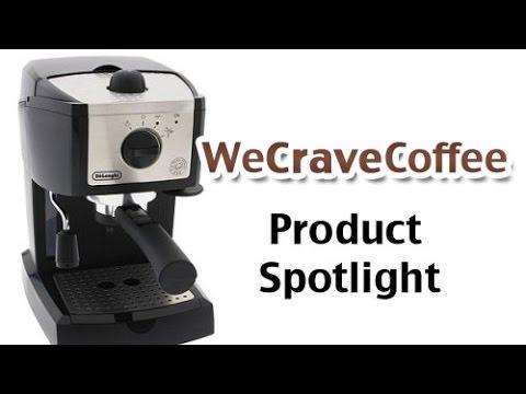 Delonghi Coffee Maker Stopped Working : De?Longhi EC155 Semi-Automatic Espresso Maker - Product Spotlight - YouTube