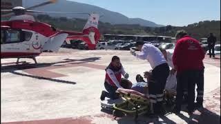 Devlet Hastanesi Anbulans Uçak Hayat Kurtardı