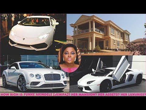 How rich is Funke Akindele (Jenifa)? ► Jenifa's Mansions, Cars, Luxuries & Assets