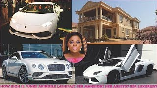 How rich is Funke Akindele Jenifa in 2019  Jenifas Mansions Cars Luxuries  Assets
