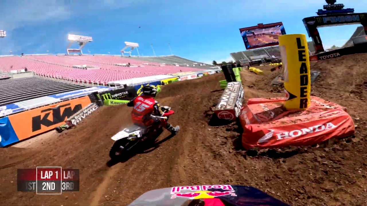 GoPro: Ken Roczen - 2020 Monster Energy Supercross - 450 Main Event Highlights - Salt Lake City 7