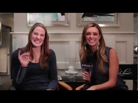"Missy Franklin ""Pretty Little Liars"" On Set Interview"