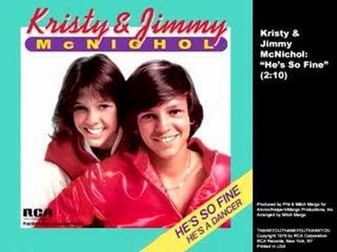 "Kristy & Jimmy McNichol ""He's So Fine"" (1978) - YouTube  Jimmy"