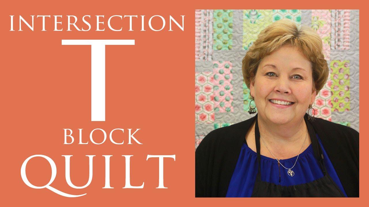 T Quilt Block