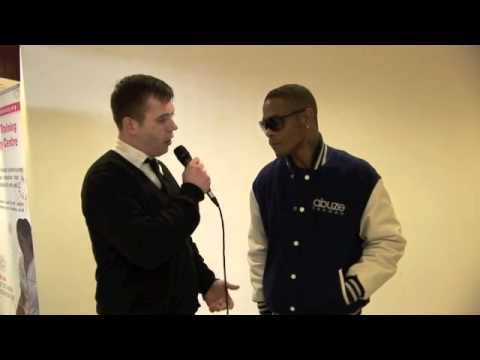 ROMEO INTERVIEW FOR iFILM LONDON / ESSEX FASHION WEEK 2012 @ CEME